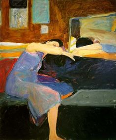 Richard Diebenkorn - such a super relaxing picture. Perfect for the bedroom, reminding you to slow down and get ready to unwind and chill . . . great colors as well!