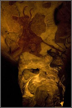 Lascaux Cave Painting VI - photo by oneof42