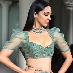 Top 51 Saree Blouse Designs (Latest and Stylish) - blouse designs Netted Blouse Designs, Stylish Blouse Design, Fancy Blouse Designs, Saree Blouse Neck Designs, Bridal Blouse Designs, Design Of Blouse, Latest Blouse Designs, Lehenga Designs Latest, Net Saree Blouse