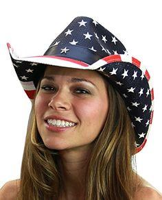NYFASHION101 USA American Flag Patriotic Cowboy Cowgirl Hat - http://todays-shopping.xyz/2016/06/05/nyfashion101-usa-american-flag-patriotic-cowboy-cowgirl-hat/