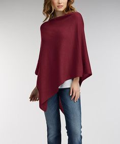 Take a look at this Ruby Essential Organic Cotton Poncho today!