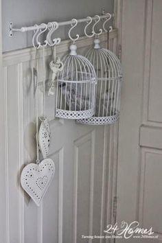 formas diferentes de decorar con jaulas