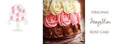 i am baker – Confections & Creations Neopolitan Rose Cake--just the pic