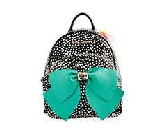 BETSEYFIED BOW BACKPACK: Betsey Johnson