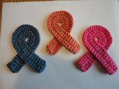 Crochet Ribbons - Tutorial