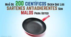 La Declaración de Madrid, firmada por cientos de científicos, presenta el consenso científico sobre los daños de los utensilios de cocina antiadherente. http://articulos.mercola.com/sitios/articulos/archivo/2015/06/03/peligros-de-los-sartenes-antiadherentes.aspx