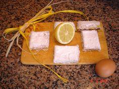 Favole a Merenda: Quadrotti al limone
