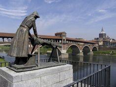 Ponti del Pò a Pavia - la lavandaia ed il ponte coperto - Cerca con Google