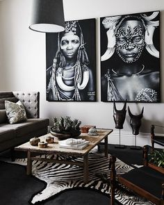 Stunning   Home by Tribal    Tap the link in our profile to shop for premium zebra rugs!