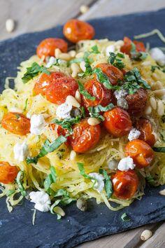 ... basil and goat cheese more fresh basil spaghetti squash squashes