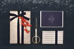 Cards and wrapping from Darling Clementine
