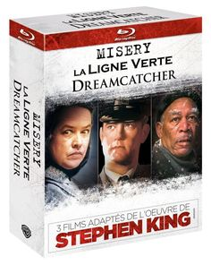 Stephen King : Dreamcatcher + Misery + La ligne verte BLU-RAY - NEUF