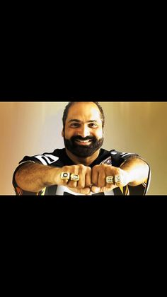 Franco Harris - 4 time Super Bowl Champion, MVP Super Bowl IX (1975) and the Steelers all time leading rusher (11,950 yards).