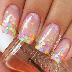 94 Amazing Polka Dots Nail Art Ideas, Neon Nail Art that S Perfect for Slaying Spring & Summer Cute Polka Dot Nail Art Tutorial, 30 Adorable Polka Dots Nail Designs, Fun and Easy Easter Nail Art Ideas and Manicures. Easter Nail Designs, Dot Nail Designs, Easter Nail Art, Nails Design, Summer Nail Designs, Birthday Nail Designs, Clear Nail Designs, Pretty Nail Designs, Spring Design