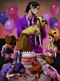 five nights at freddy's purple guy | Tumblr
