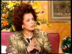 """Sara Montiel entrevista con Ana Rosa Quintana en """"Sabor a tí""""1999 - YouTube Sara Montiel, Videos, Google, Youtube, Ana Rosa, Interview, Youtubers"""