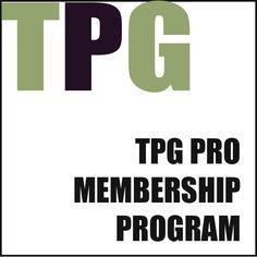 TPG PRO Membership Program