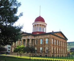 Old State Capitol Building, Springfield, Illinois