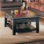 $518.00  Broyhill - Attic Heirlooms Rectangular Cocktail Table Antique - 3397-01B