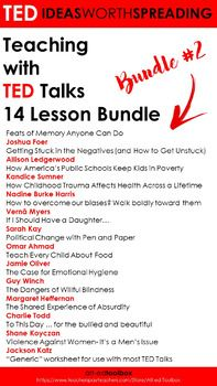 TED Talk Lesson (To This Day ... for the bullied and beautiful ...