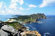 Les îles Cíes en Galice
