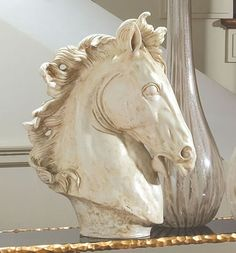 Horse Head Sculpture, Horses-Sculptures-Statues, 3.30638 - AllSculptures.com