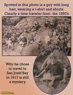 #Unexplained #TimeTravel