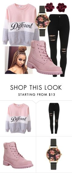 """""""so Different"""" by stay-true-loyal on Polyvore featuring Poetic Justice, Timberland and Olivia Burton"""