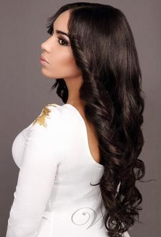 High Quality Handmade Fluffy Long Loose Body Wavy Full Lace Wig 100% Real Human Hair about 24 Inches: wigsbuy.com