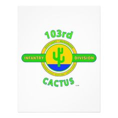 """103rd Infantry Division /""""Cactus Division/"""" Army STICKER DIE-CUT Vinyl Decal USA"""
