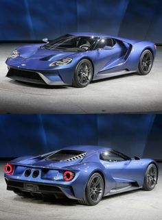 The new 2017 Ford GT.