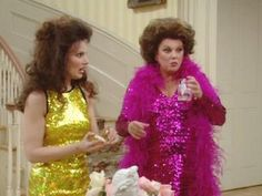 """Tyne Daley and Fran Drescher....""""The Nanny'"""
