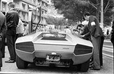 Countach prototype Monaco