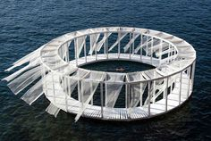 AntiRoom II is a conceptual design project in Malta; a 'floating island' accessible only by a (long) swim or a boat ride.