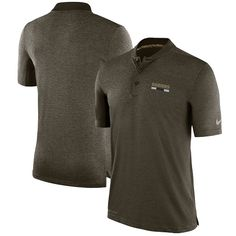 43d92d7f137 Tennessee Titans Nike Salute to Service Sideline Performance Polo - Olive  nike Tennessee Titans