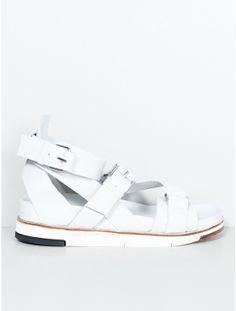 Cinzia Araia Blade Sandal White