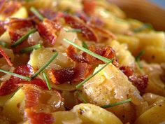 German Potato Salad Recipe from Food Network- Tastes great! This potato salad is most like Ruby Tuesday's potato salad of any recipe that I have tried and I love their German potato salad! I'll definitely make this recipe again.