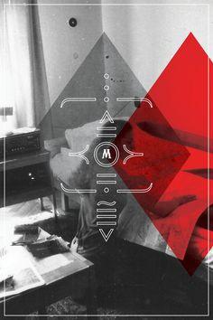 M + T by Miriam Olszewski, via Behance