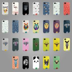 NEW TIRITA CASE COVER FOR IPHONE SAMSUNG OR LG TREND ANIMALS PRINT CUTE FASHION