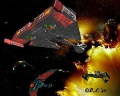 Klingon Empire, Star Trek Starships, Wolves, Wolf, Timber Wolf