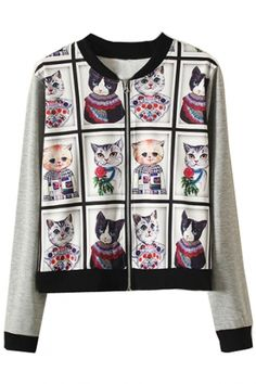essential cat family jacket