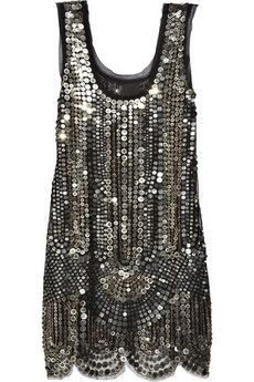 Anna Sui Silk-tulle sequin-embellished dress and other apparel, accessories and trends. Browse and shop 17 related looks. Cute Fashion, Look Fashion, Womens Fashion, Winter Fashion, Color Style, Style Me, Anna Sui Dresses, Dress Me Up, Nye Dress