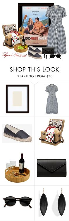 """""""Numbers  -   #4410"""" by lynnspinterest ❤ liked on Polyvore featuring Pottery Barn, Sea, New York, BCBGeneration, Picnic Time, Picnic at Ascot, Balenciaga, Alexis Bittar and 4410"""