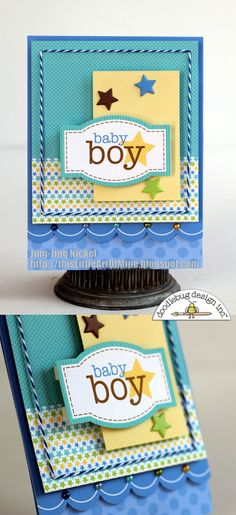 Doodlebug Design Inc Blog: More Snips & Snails Inspiration from our DT
