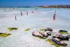 Elafonisi beach. Chania, Crete, Greece