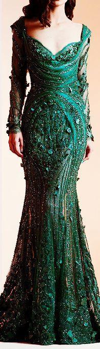 Ziad Nakad Haute Couture Spring/Summer 2014 #promdress jjdress.net: