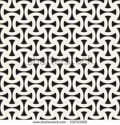 Vector seamless pattern. Modern stylish texture. Repeating geometric tiles. Simple monochrome grid