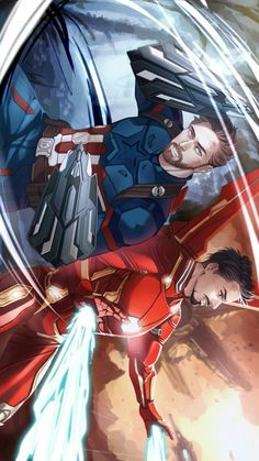 Avengers Infinity War || Captain America & Iron-Man || Cr: 不是肉饼 || this is