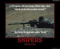 Kinda morbid, but hey, they're terrorists.
