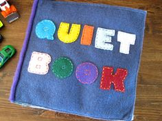 A post of quick and easy quiet books